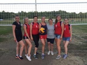21 и 28 июня прошло Первенство городского округа Серебряные Пруды по волейболу на открытых площадках среди женских команд