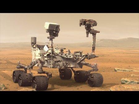 Curiosity нашел на Марсе следы древней органики