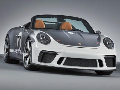 Porsche создал концепт мощного спидстера