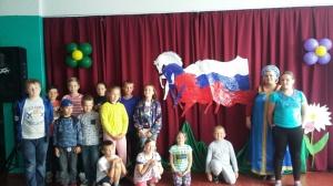 Развлекательно - познавательная игра «Моя Родина-Россия», посвященная Дню России