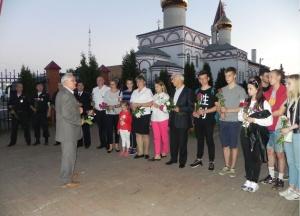 В Серебряных Прудах полицейские приняли участие в Общероссийской социальной акции «Завтра была война»