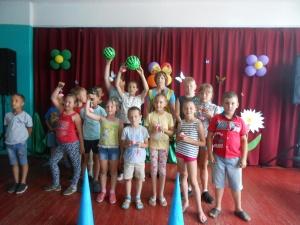 28 июня в МУК «КДЦ Мочильское городского округа Серебряные Пруды Московской области» прошла игровая программа для детей «Когда всем весело»