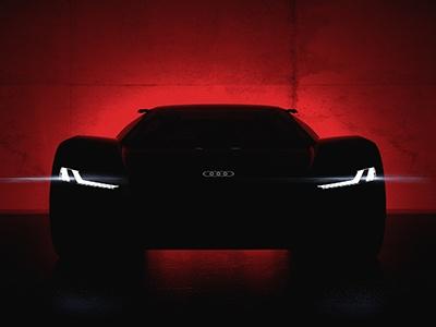 Audi публикует первое фото концептуального электрокара