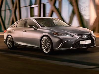 Lexus начинает прием заказов на новый бизнес-седан ES