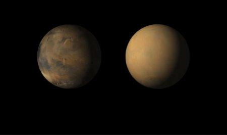 Марсианская пыльная буря, в которой погибает Opportunity, охватила всю планету