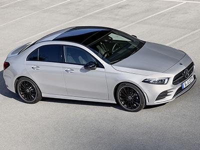 Mercedes-Benz представил седан A-Class