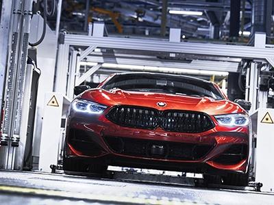 Новое купе BMW 8 Series запущено в производство