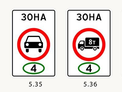 Новые запрещающие знаки появились в ПДД 1 июля