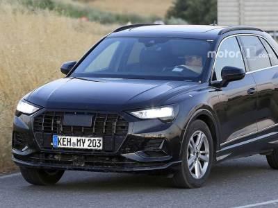 Новый Audi Q3 пойман почти без камуфляжа