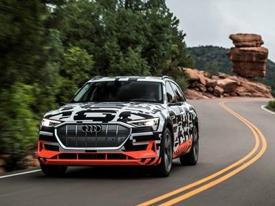 Audi испытала систему рекуперации на прототипе e-tron