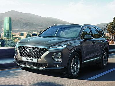 Hyundai объявила цены на новое поколение Santa Fe