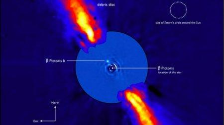 Астрономы впервые «взвесили» молодую экзопланету