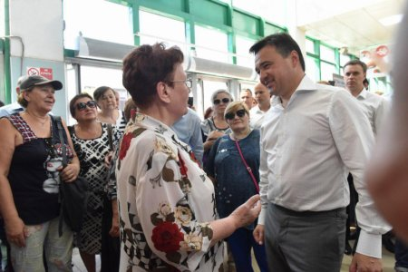 Губернатор проконтролировал, как реализуется новая транспортная льгота в Люберцах