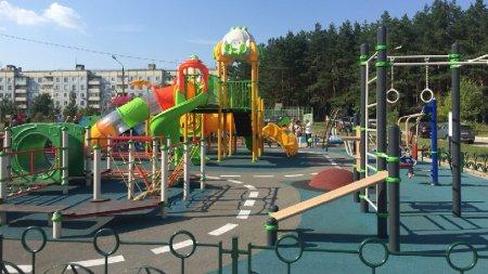 В Электростали открылась новая детская площадка по губернаторской программе