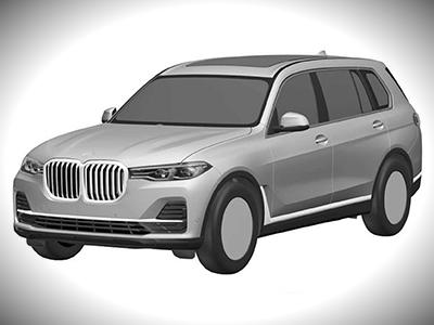 Первые изображения самого роскошного внедорожника BMW