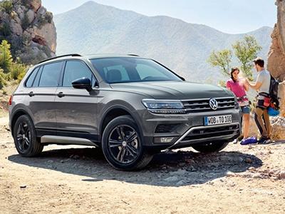 Volkswagen покажет на ММАС внедорожный Tiguan со спецбамперами