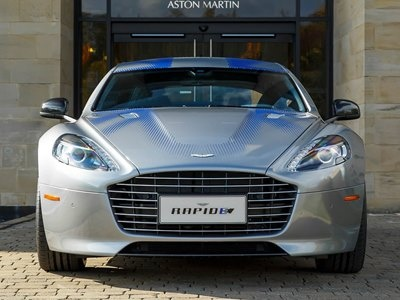 Aston Martin раскрыл подробности об электрокаре Rapide E