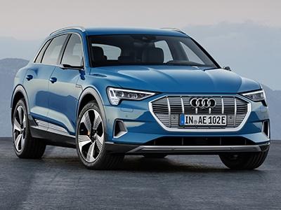 Audi рассекретил электрический кроссовер e-tron