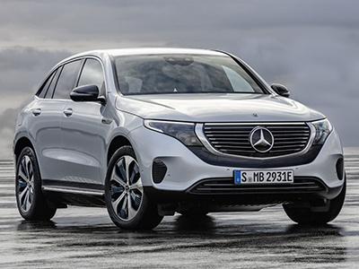 Mercedes-Benz представил первый серийный электрокар EQC