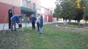 Работники Мочильского СДК совместно с юными неравнодушными жителями приняли участие в акции