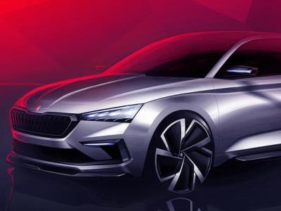 Skoda представила интерьер «заряженных» моделей будущего