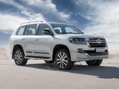 Toyota привезла в Россию топовый «Крузак»