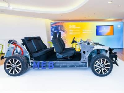Volkswagen создал модульную платформу для электрокаров