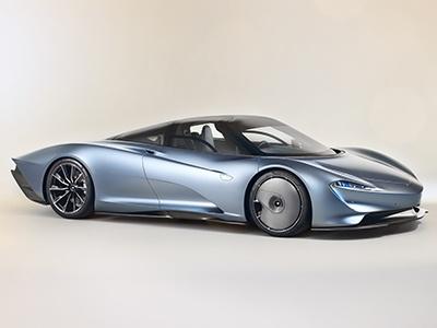 McLaren представил ультрадорогой и сверхбыстрый Speedtail