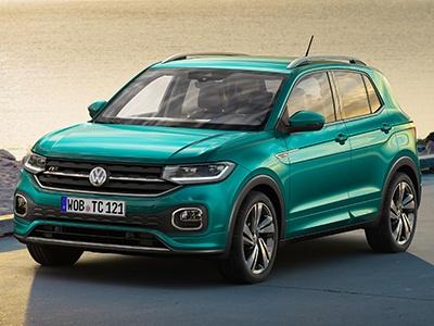 Volkswagen выкатил новый компактный кроссовер T-Cross