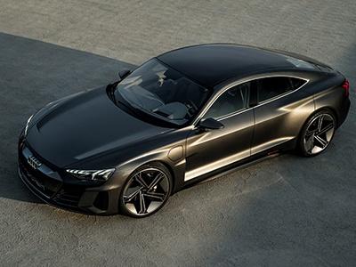 Audi показала третий серийный электрокар e-tron GT