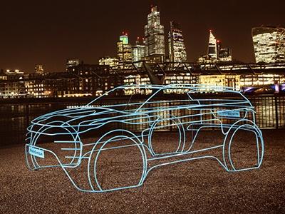 Land Rover необычно анонсировал премьеру нового Evoque