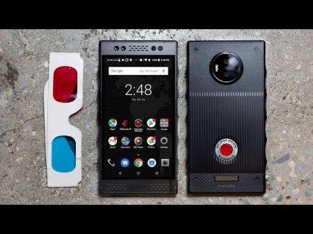 Голографический смартфон Red Hydrogen One поступает в продажу по цене $1295