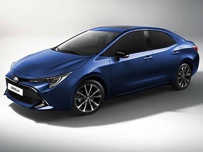 Toyota показала тизер нового поколения седана Corolla