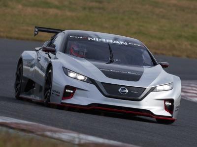Nissan превратил Leaf в гоночный дэмо-электрокар