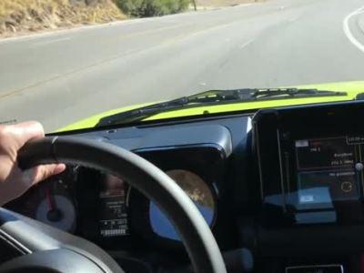 Новый Suzuki Jimny оказался глючным малым