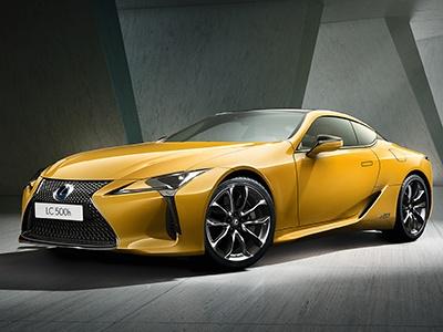 Lexus начал прием заказов на эксклюзивное желтое купе