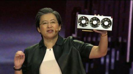 #CES   AMD представила новую флагманскую видеокарту и процессоры Ryzen 3-го поколения