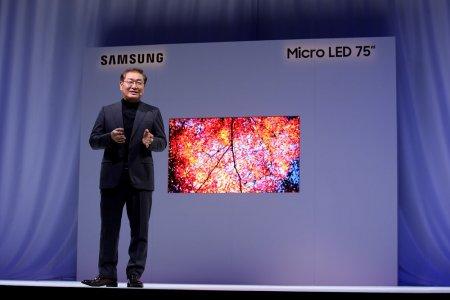 #CES   Samsung показала новые модульные микросветодиодные телевизоры