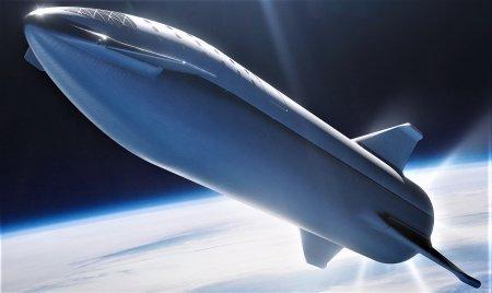Илон Маск показал концепт тестовой ракеты Starship и рассказал о первом запуске Crew Dragon