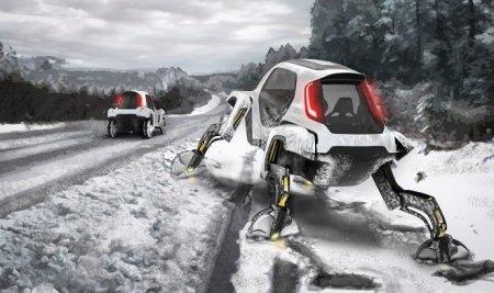 Концепт «шагомобиля» Hyundai Elevate выходит из тени