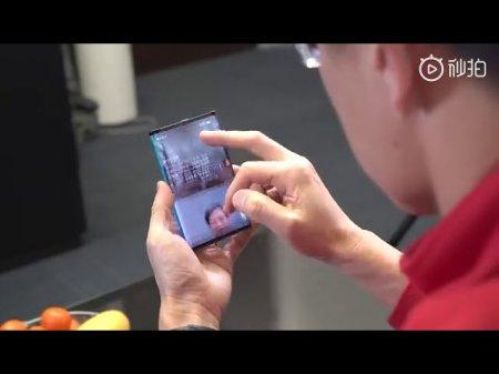Xiaomi показала лучший на сегодняшний день прототип складного телефона