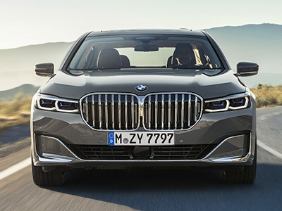 Обновленный BMW 7серии получил гигантские «ноздри»