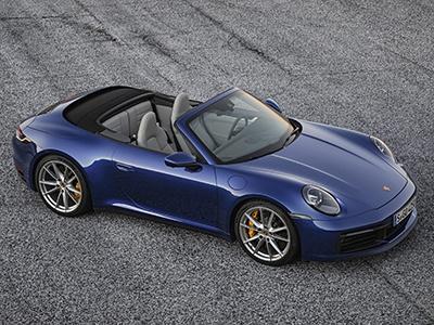 Porsche представил новый кабриолет 911 и назвал цены
