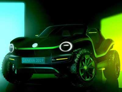 Volkswagen готовит концепт электрического пляжника
