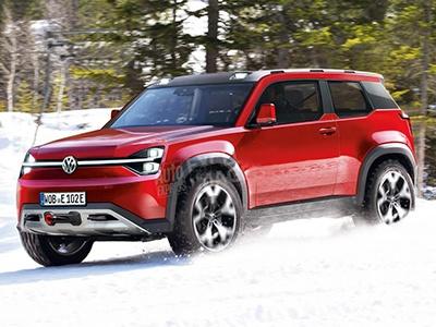 VW готовит суровый бюджетный электрический внедорожник
