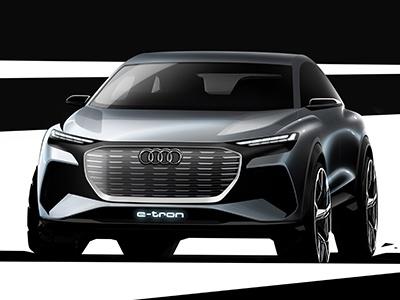 Audi анонсировала новый электрический кроссовер Q4 e-tron