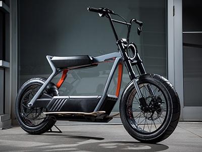 Harley Davidson показал свой первый электро-скутер