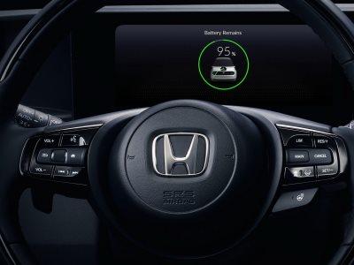 Honda показала приборку и консоль перспективного электрокара
