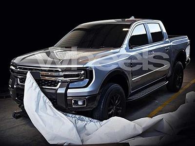 Новый брутальный пикап Ford засветился задолго до премьеры