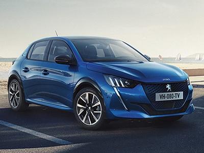 Peugeot 208 теперь электрокар: первые фото до премьеры